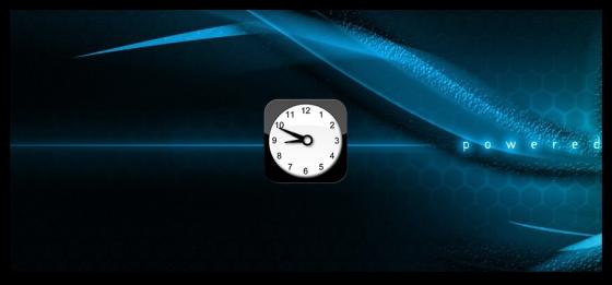 Скачать iPhone Clock gadget - гаджет часов для Windows 7.