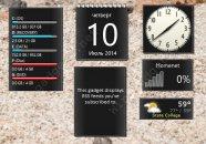 Гаджет Only Black - скачать бесплатно для Windows 7&8.