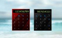 Гаджет Glossy Calculator - гаджет калькулятор на рабочий стол windows 7.