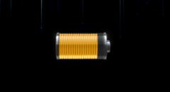 HUD LAUNCH Battery - Гаджет заряд аккумулятора на рабочий стол Windows.