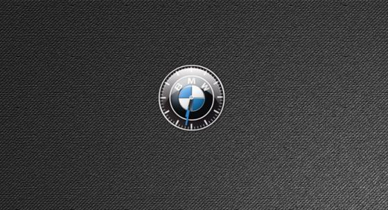 Гаджет-Часы BMW на рабочий стол.