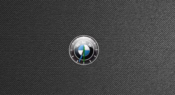 Гаджет для Windows - Часы BMW.