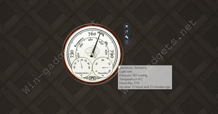 как скачать барометр на рабочий стол