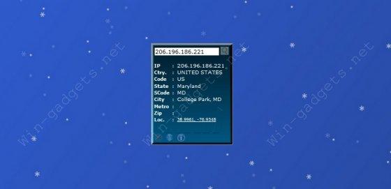 Скачать гаджет IP To Location бесплатно.