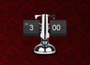Metallic Flip Clock - перекидные часы на рабочий стол.