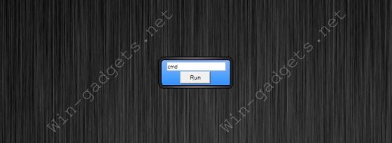 Командная строка Windows на рабочий стол - Run Command.