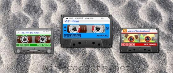 Гаджет онлайн радио -XRadio Gadget 2.0