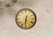 Vintage clock - Винтажные часы на рабочий стол Windows.