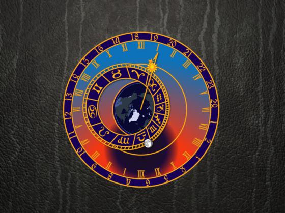 Астрономические часы (Орлой) на рабочий стол Windows.