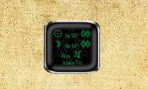 Thelemic Gadget - гаджет продолжительности дня и фазы луны.