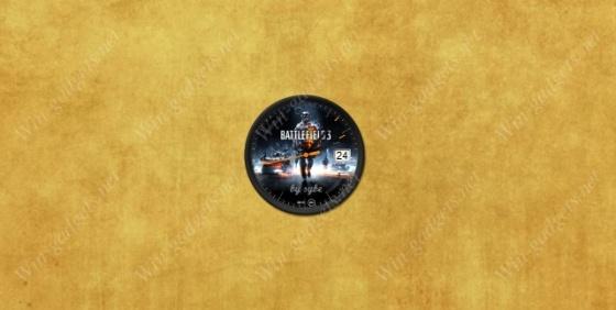 Часы Battlefield 3 для Windows 7