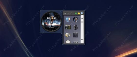 Gadget Launcher - Менеджер гаджетов для Windows 7.