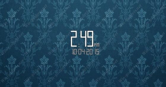 Clear Clock - гаджет часы для Windows 7