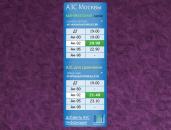 АЗС Москвы - мониторинг цены на бензин.