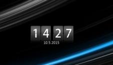 YATS clock - гаджет перекидные часы на рабочий стол Windows 7/8.1.