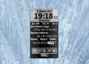 CTcontrol 3.1 - гаджет Панель управления для Windows 7.