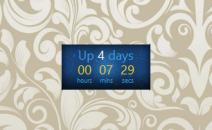 UpTime - гаджет времени работы компьютера для Windows 7.