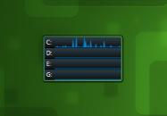 Drive Activity - гаджет мониторинга активности дисков в Windows 7.
