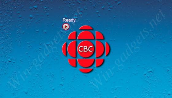 Гаджет Канадского радио на рабочий стол.