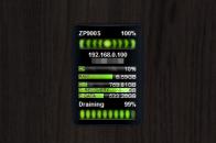 iPK Combo gadget - гаджет мониторинга системы Windows 7.