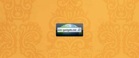 Гаджет Bing Search на рабочий стол Windows 7/8/10.