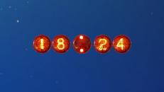 Digital Fire Clock - гаджет огненные часы для Windows 7.