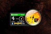 Ferrari CPU - гаджет мониторинг нагрузки ЦПУ.