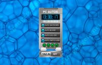 PC autos - гаджет для автоматической перезагрузки ПК, выключения и смены пользователя системы.
