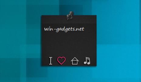 гаджет стикер для Windows 7 - фото 11
