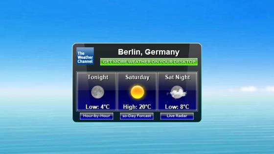 Информер погоды TWC Weather