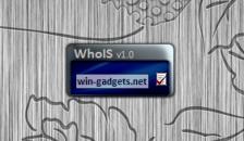 WhoIS Search - гаджет поиска WhoIS данных сайта.