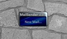 Mail Sender - гаджет для отправки писем с рабочего стола.