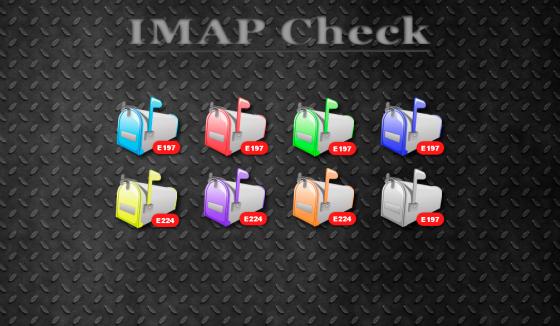 Гаджет IMAP клиент на рабочий стол Windows 7.