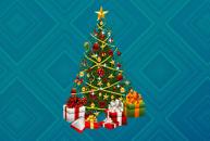 Shine Christmas Tree - Рождественская елка на рабочий стол Windows 7.