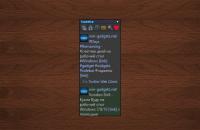 Tweetz gadget - Twitter лента на рабочий стол