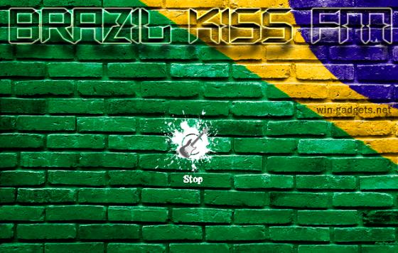 Brazil KISS FM Radio gadget