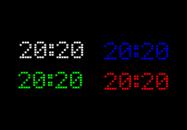 Led Clock - гаджет Светодиодные часы для Windows 7/8/10.