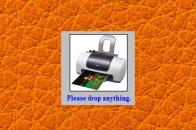 Desktop print gadget